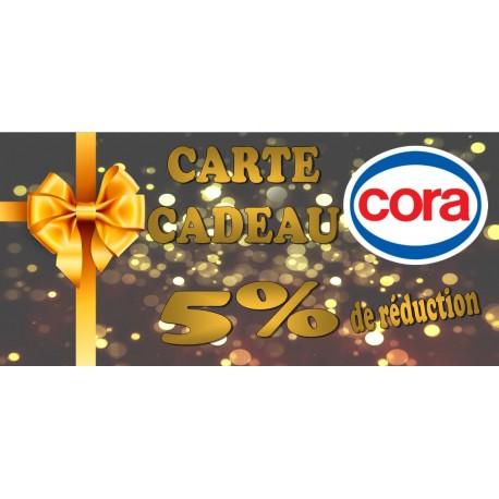Carte cora 50 €