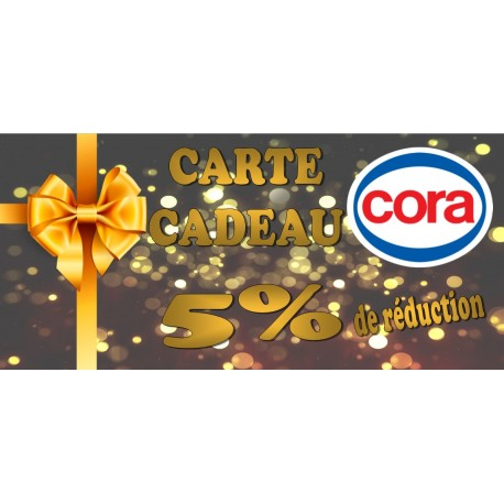 Carte cora 100 €