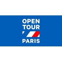 Open tour paris - 3 jours - à partir de 12 ans