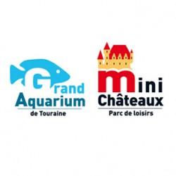 Duo aquarium de touraine + mini chateau - de 4 à 12 ans - sur command