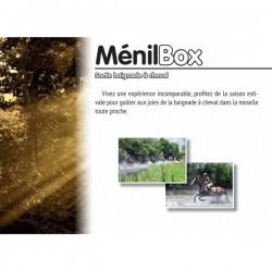 Menil box : sortie baignade a cheval