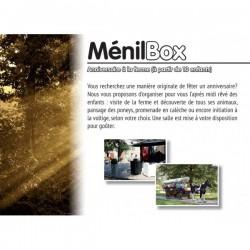 Menil box : anniversaire a la ferme (à partir de 10 enfants)