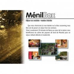 Menil box : nuit insolite roulotte balneo bien etre