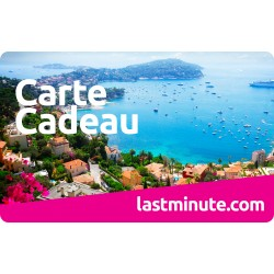 E carte lastminute.com - valeur de 250 €