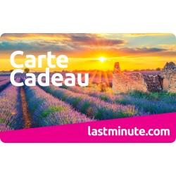 E carte lastminute.com - valeur de 350 €