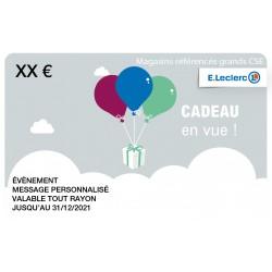 Carte leclerc 50 €