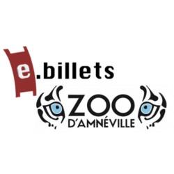 E billet zoo + aquarium amneville enfant - de 3 à 11 ans