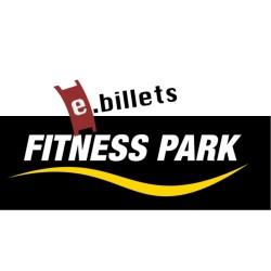 E billet fitness park abonnement 1 an