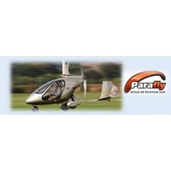 E billet parafly vol initiation autogire 60 minutes